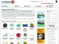 Cyprus Tourist Villas Website Screenshot