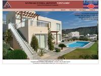 Cyprus Property Developers - I Dynamis Website Screenshot