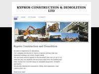 Kypros Demolition Website Screenshot