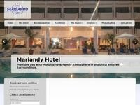 Mariandy Hotel Website Screenshot