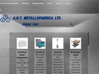 ANT Metallofabrica Website Screenshot