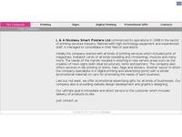 Nicolaou Smartposters Website Screenshot