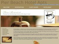 Pier Beach Website Screenshot