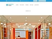 Pyramos Hotel Website Screenshot