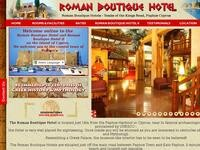 Roman Hotel Paphos Website Screenshot