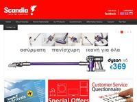 Scandia Website Screenshot