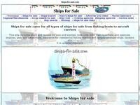 Ships-For-Sale.com Website Screenshot