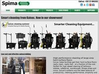 Spima Website Screenshot