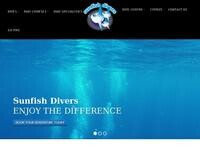 Sunfish Divers Website Screenshot