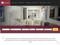 Yioupis Developments Website Screenshot