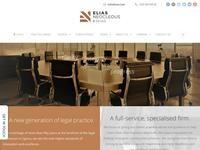 Elias Neocleous & Co LLC Website Screenshot